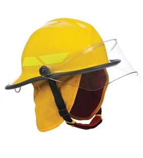 Capacete para proteção do crânio e face contra agentes térmicos 283b46d8c6